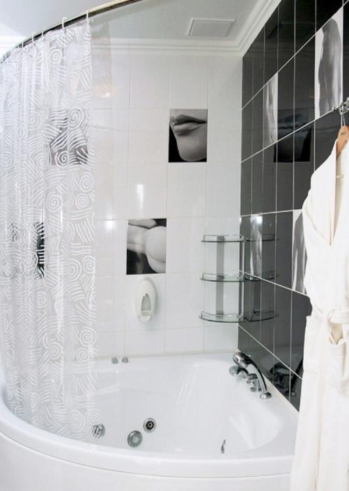 Туалетная комната номера Делюкс в Корпусе 1 Alex Resort & Spa Hotel