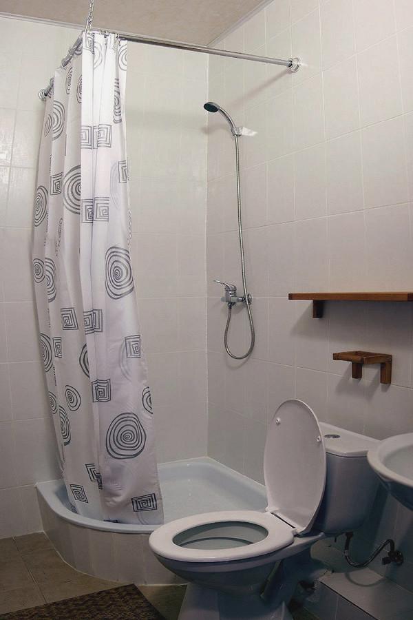 Туалетная комната Стандартного номера отеля Альпийский двор