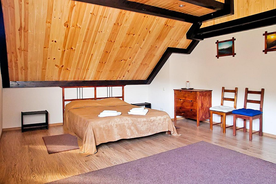Номер Люкс двухуровневый отеля Альпийский двор