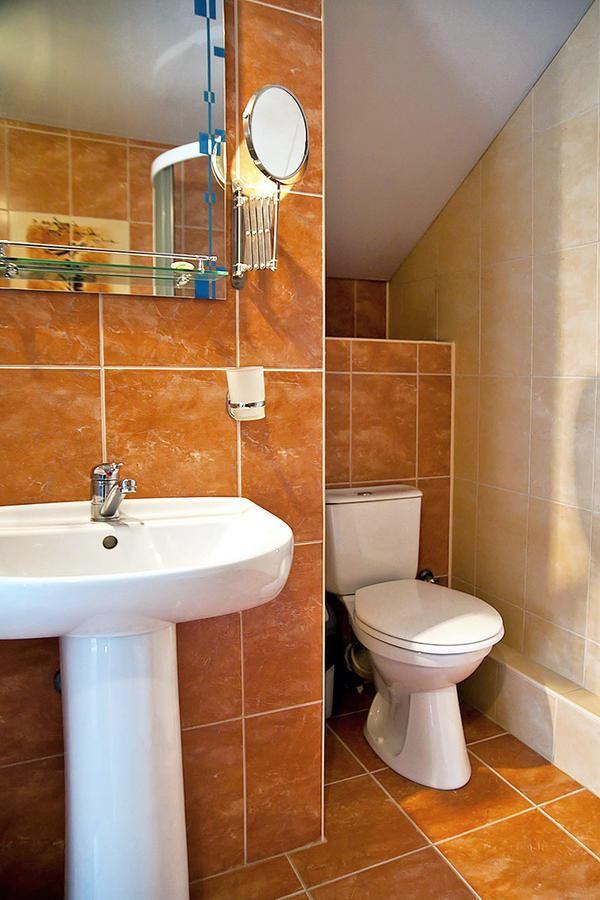 Туалетная комната номера Люкс отеля Альпийский двор