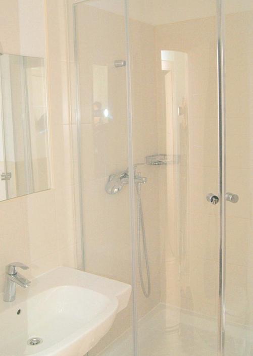 Туалетная комната номера Комфорт в Корпусе 6 санатория Алушта