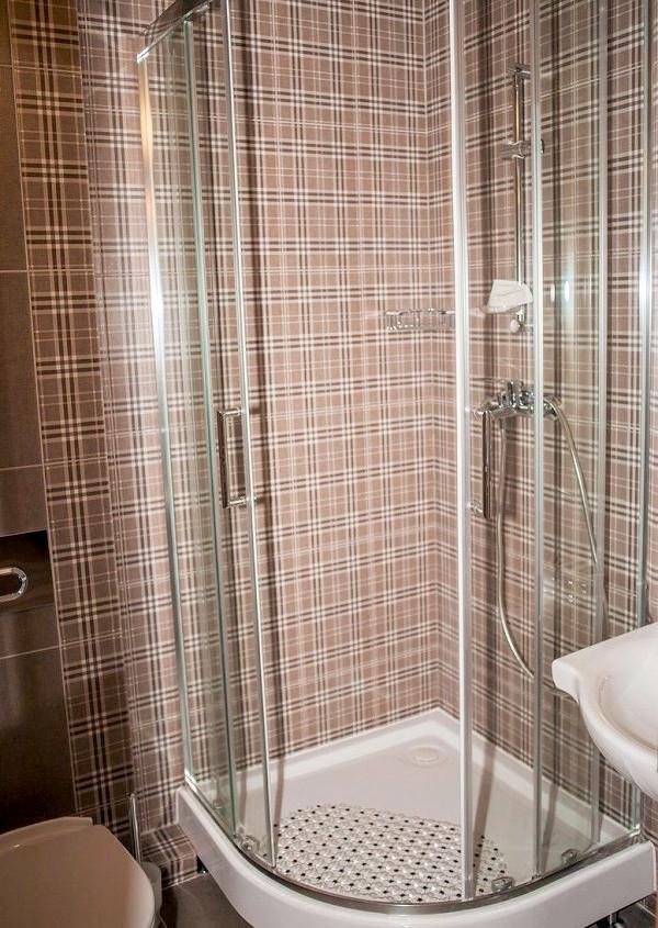 Туалетная комната Стандартного Улучшенного номера в Корпусе 6 санатория Алушта
