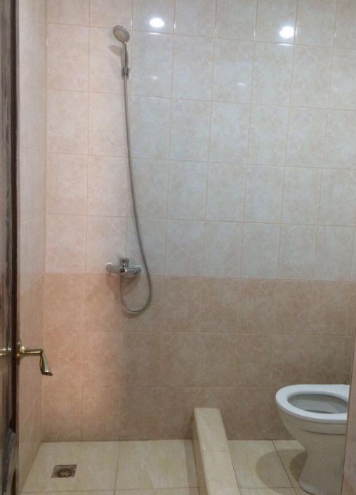 Туалетная комната в номере Корпуса №2 гостевого дома Amina Beach