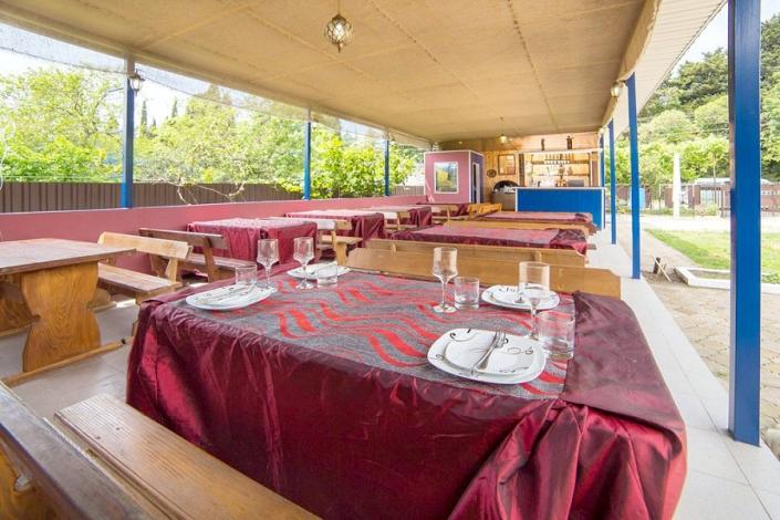 Кафе гостевого дома Amina Beach