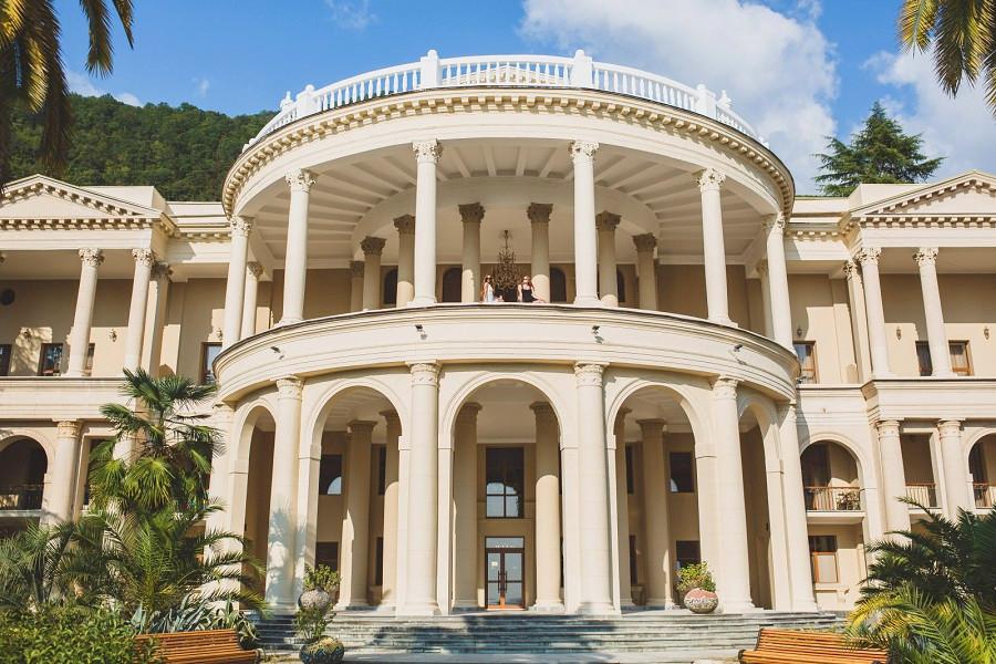 Корпус №1 Главный Amra Park Hotel & Spa, Гагра, Абхазия