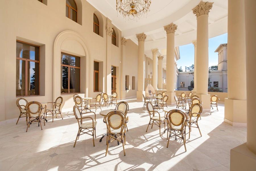 Терраса Корпуса № 1 Amra Park Hotel