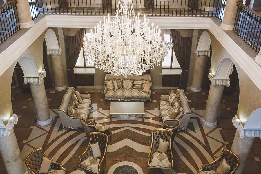 Центральный холл Корпуса № 1 Amra Park Hotel