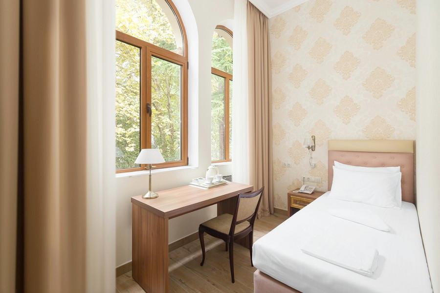 Стандартный одноместный номер в Корпусе № 1 Amra Park Hotel