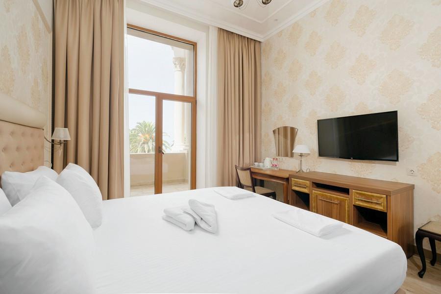 Стандартный двухместный номер с балконом в Корпусе № 1 Amra Park Hotel