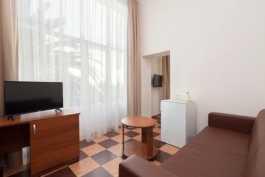 Полулюкс двухместный двухкомнатный в Корпусе № 2 Amra Park Hotel