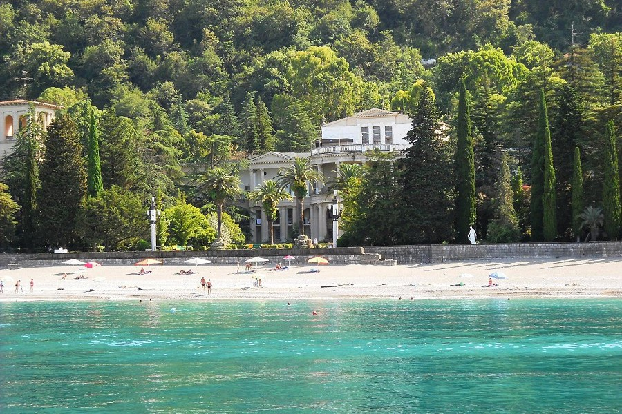 Пляж Amra Park Hotel