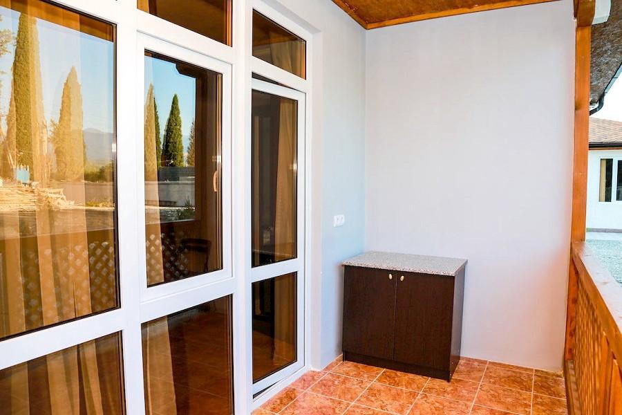 Терраса комната Семейного номера базы отдыха Amra Sunrise