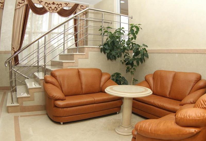 Холл отеля Амран, Гагра, Абхазия