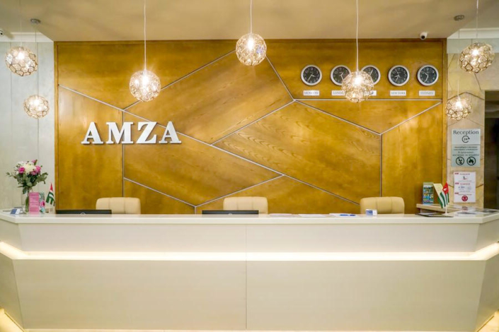 Служба приема и размещения гостей Amza Park Hotel