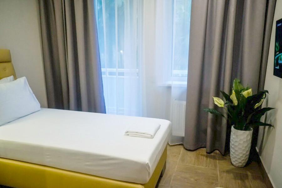 Стандартный одноместный номер Amza Park Hotel