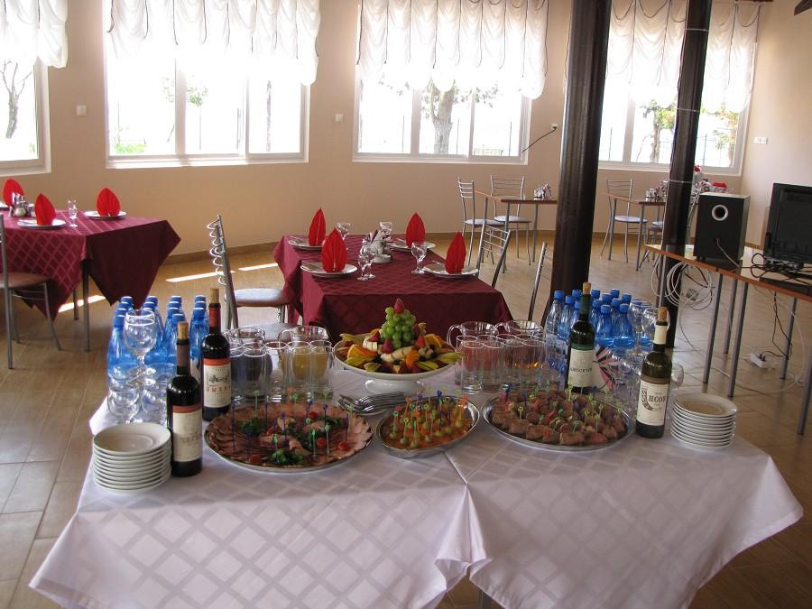 Кафе отеля Афнакопия Клаб, Абхазия, Новый Афон, Приморское