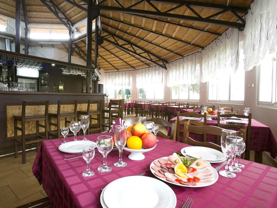 Кафе отеля Анакопия Клаб, Абхазия, Новый Афон, Приморское