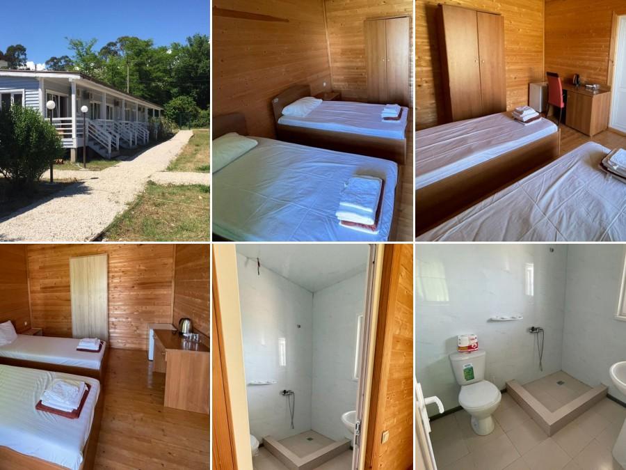Стандарт 2-местный в Эко-коттедже отеля Анакопия Клаб, Абхазия, Новый Афон, Приморское