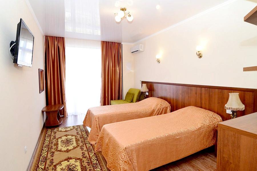 Стандарт двухместный 1 категории апарт-отеля Анапа