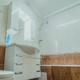 Туалетная комната Стандартного двухместного номера в апарт-отеле Анапа
