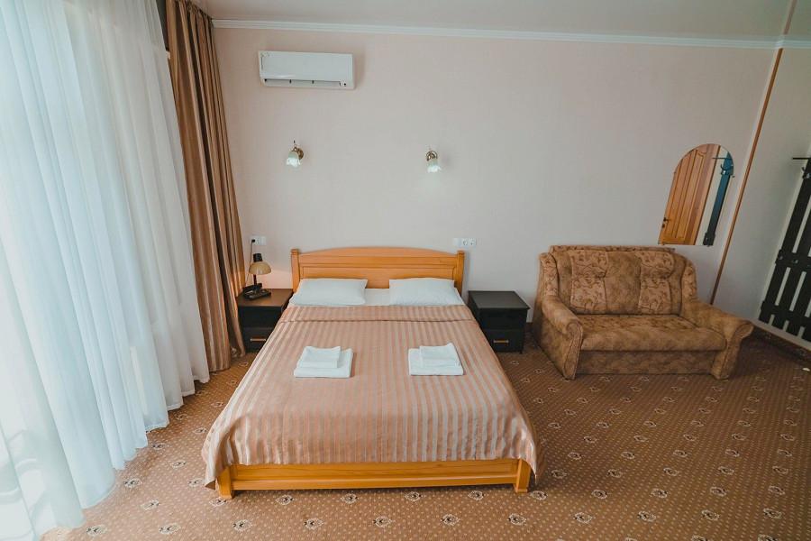 Повышенной Комфортности двухместный номер апарт-отеля Анапа