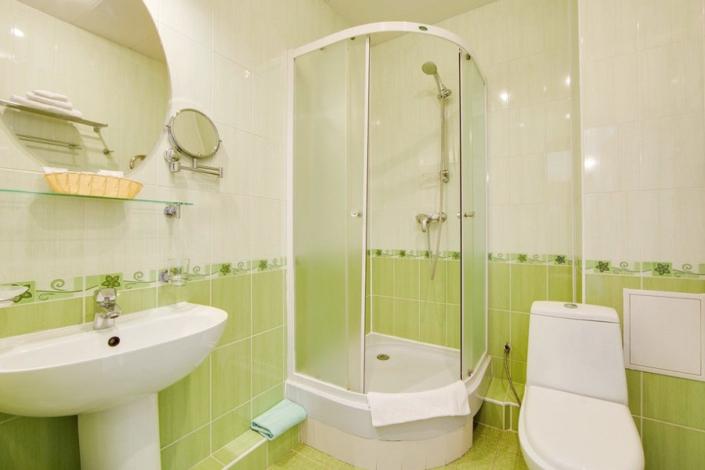 Туалетная комната Семейного номера в Главном корпусе пансионата Анапа-Лазурная