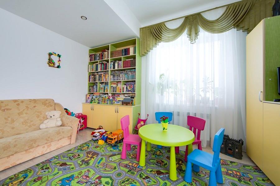 Детская комната пансионата Анапа-Лазурная