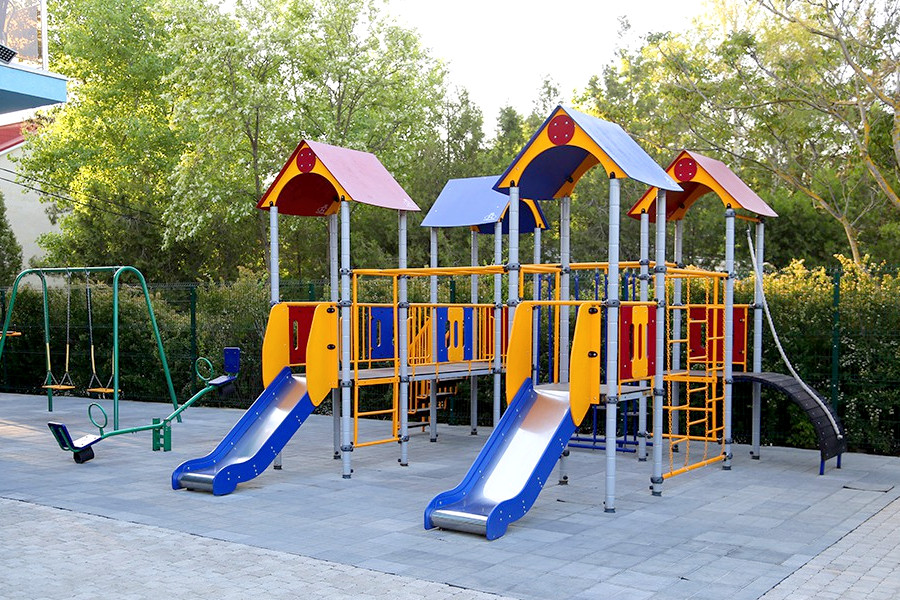 Детская площадка пансионата Анапа-Лазурная