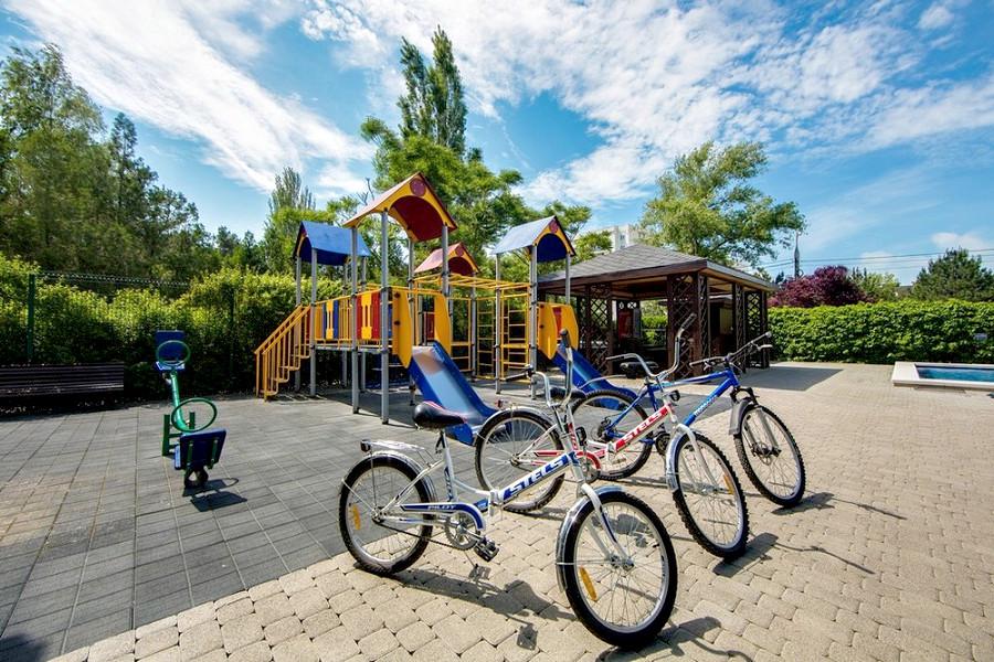 Прока велосипедов пансионата Анапа-Лазурная