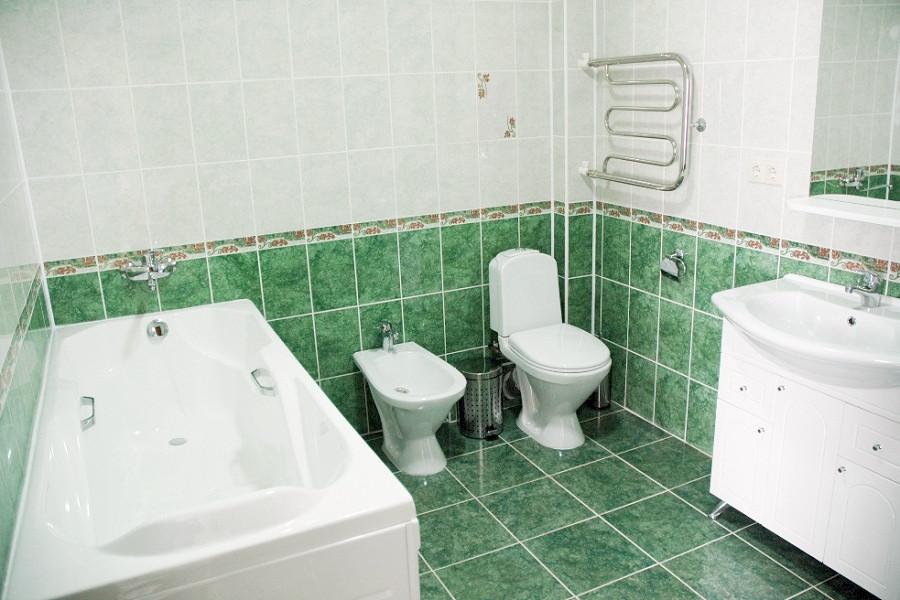 Туалетная комната номера Студия санатория Анапа-Нептун