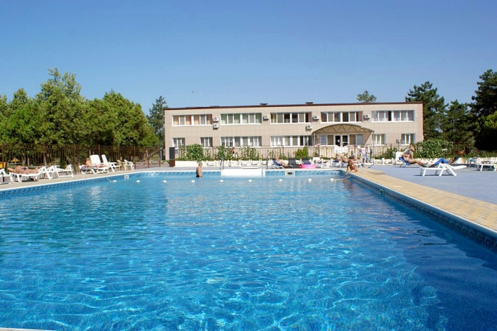 Бассейн санатория Анапа-Нептун