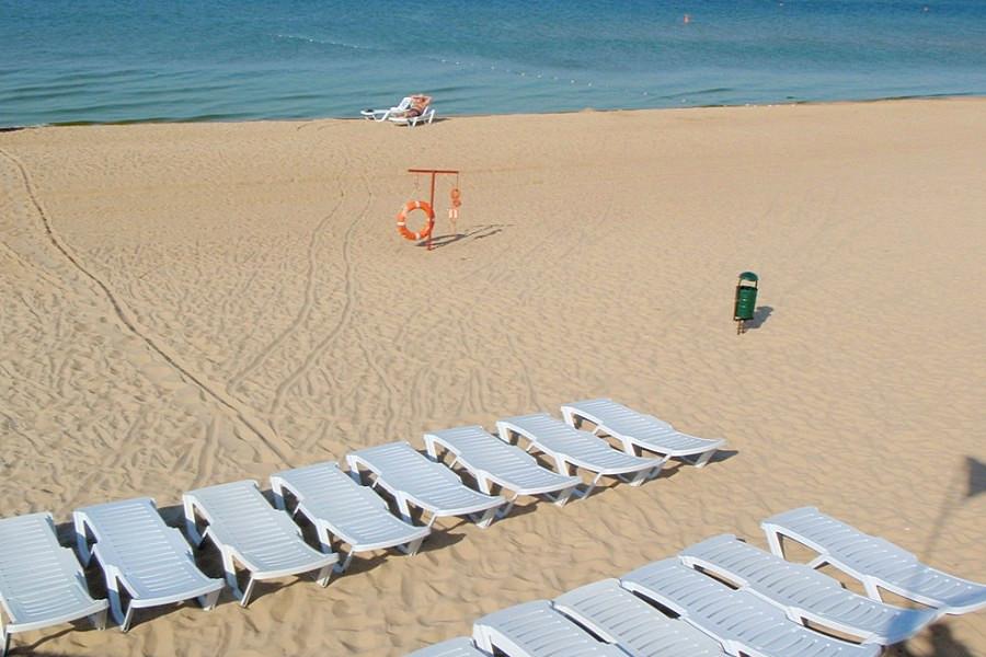 Пляж санатория Анапа-Нептун