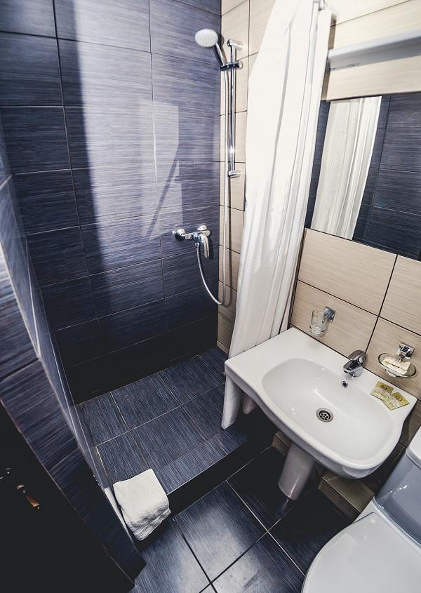 Туалетная комната Стандартного номера санатория Анапа-Океан