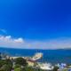 Вид на море из окон номеров санатория Анапа-Океан