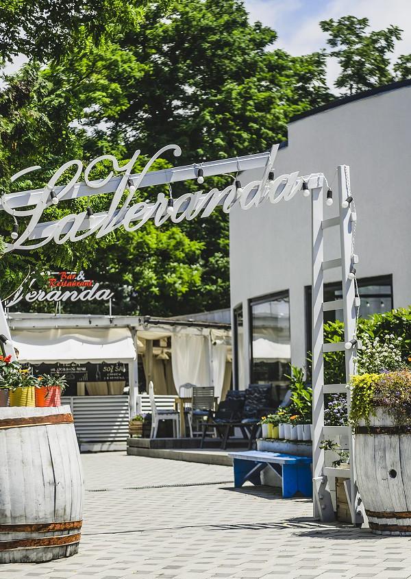 Ресторан итальянской кухни La Veranda в санатории Анапа-Океан