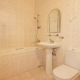 Туалетная комната Стандартного двухкомнатного номера в пансионате Анапчанка