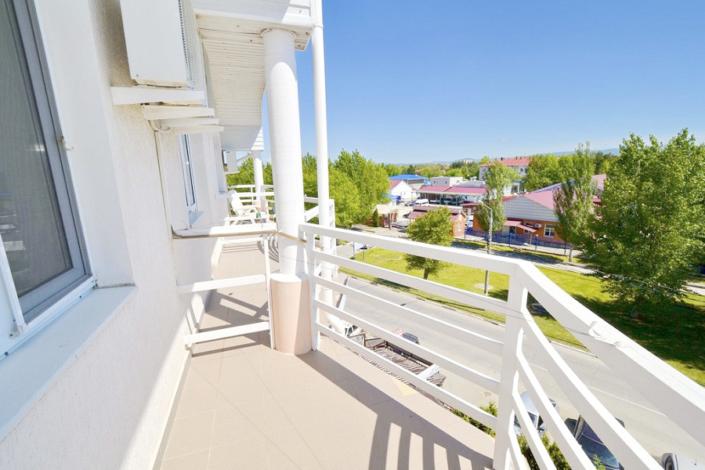 Балкон одного из номеров пансионата Анапский бриз