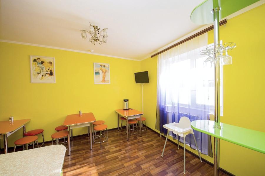 Комната отдыха в корпусе Эконом пансионата Анапский бриз
