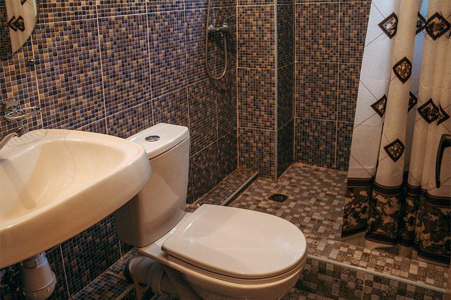 Туалетная комната Стандартного номера в гостевом доме Анна Сария