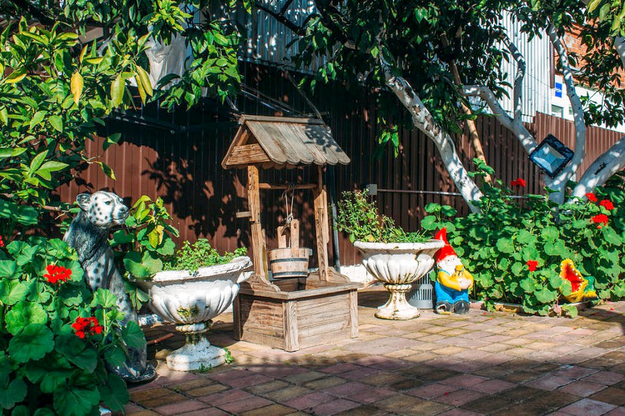 Территория гостевого дома Анна Сария