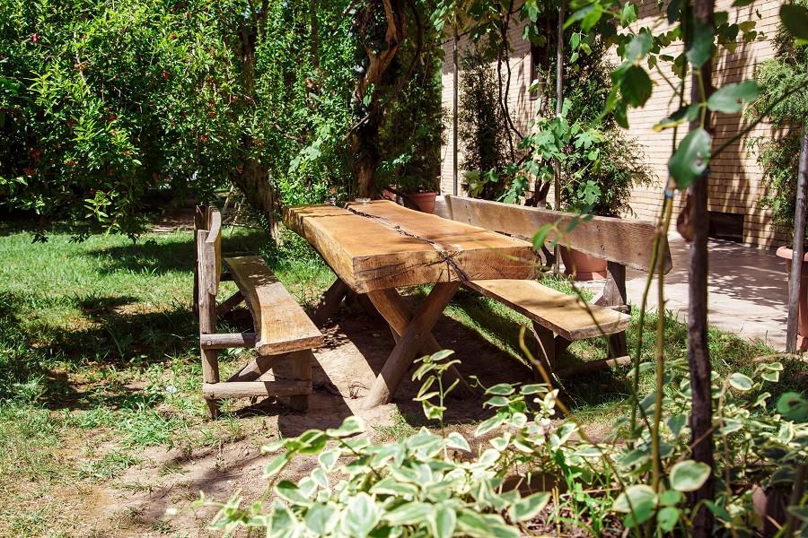 Территория гостиницы Апсара, Пицунда, Лдзаа