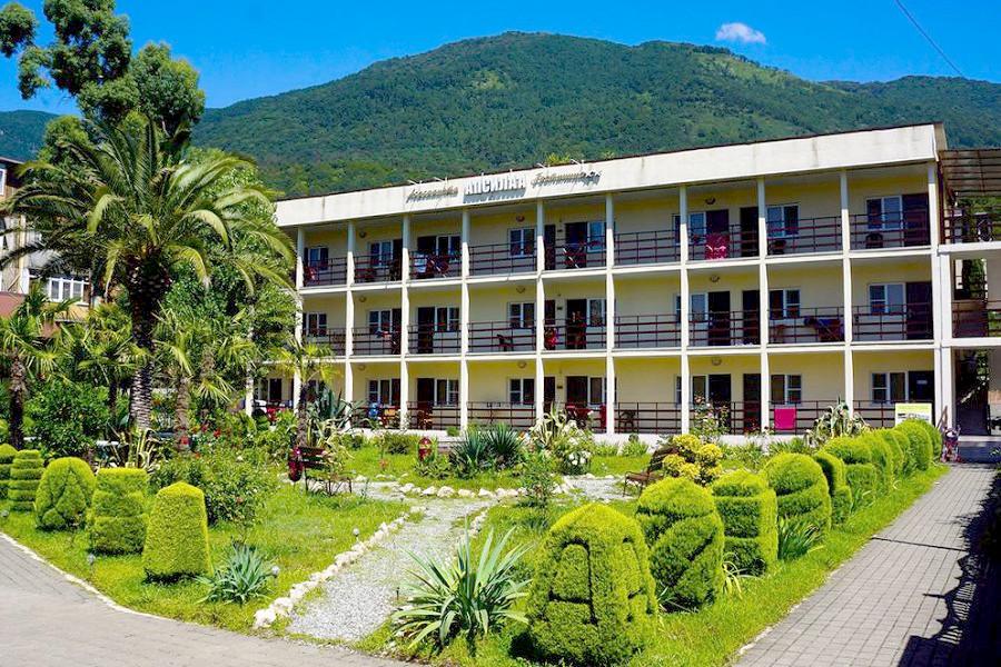 Гостиница Апсилаа, Гагра, Абхазия