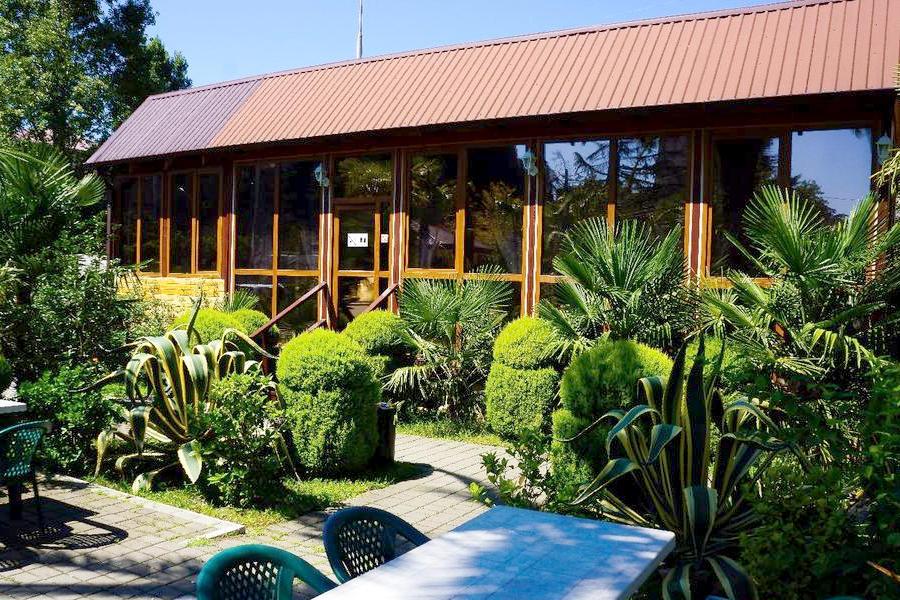 Кафе гостиницы Апсилаа