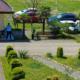 Автостоянка на территории гостиницы Апсилаа