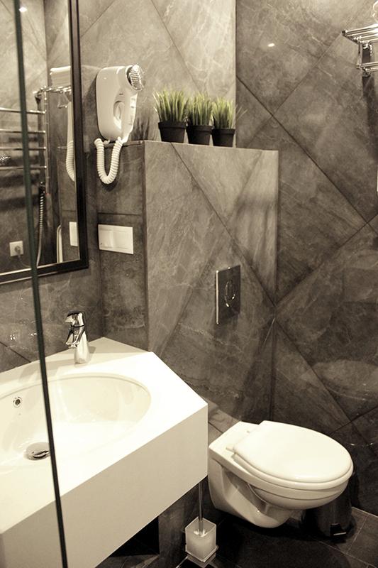 Туалетная комната номера Люкс отеля Apsuana Rose, Гагра, Абхазия