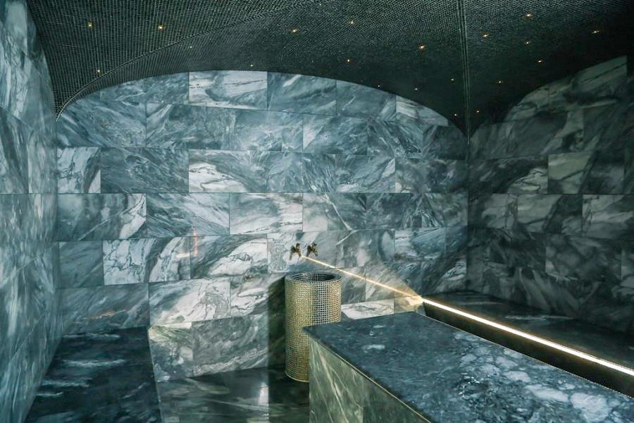 Турецкая баня в спа-центре отеля Apsuana Rose