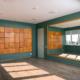 Фитнес-зал для занятий йогой в спа-центре отеля Apsuana Rose