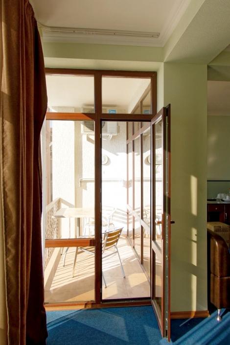 Балкон номера Люкс пансионата Арбика