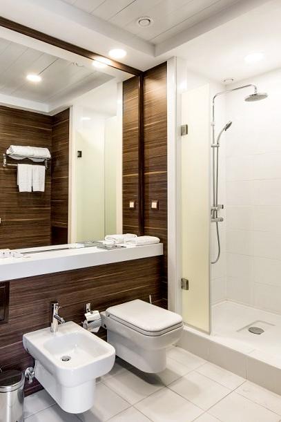 Туалетная комната номера Супериор в вилле парк-отеля Арфа, Сочи, Адлер