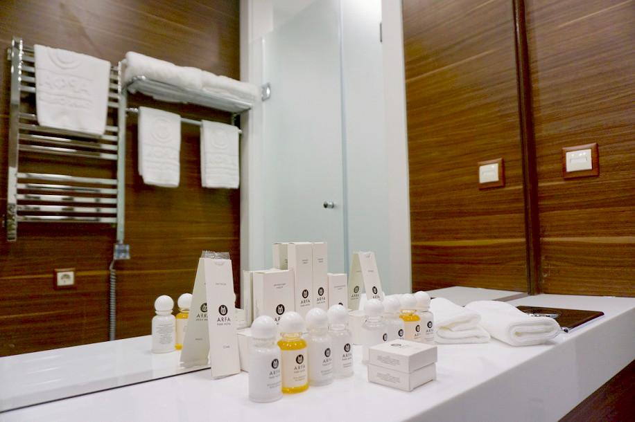 Туалетная комната Делюкс в вилле парк-отеля Арфа, Сочи, Адлер